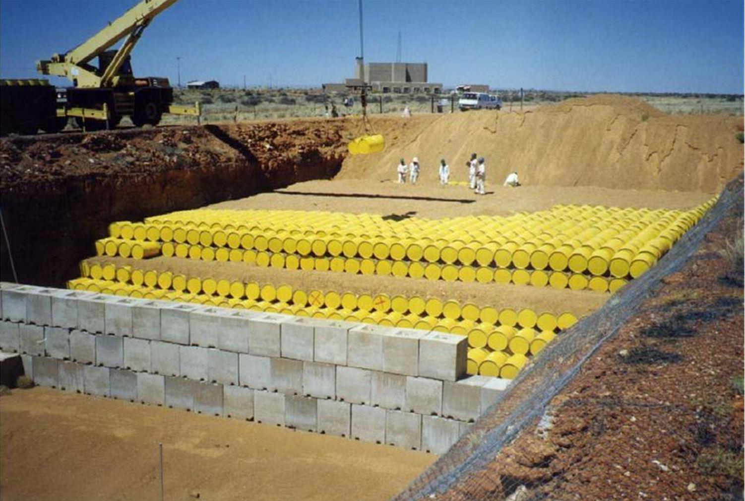Deposito nucleari scanziamo le scorie scorretto for Piano di deposito