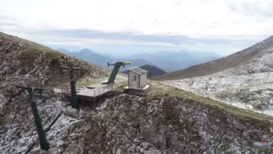 Photo of La prima neve sul massiccio del Sirino – (VIDEO)