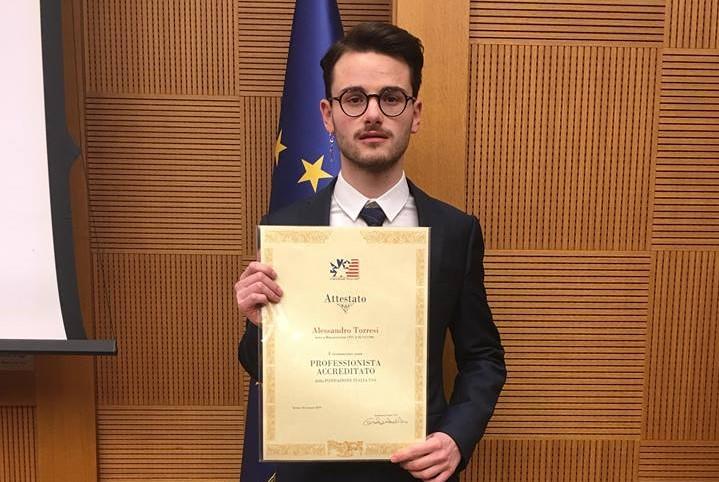 Alessandro torresi di villa d 39 agri tra i migliori for In diretta dalla camera dei deputati