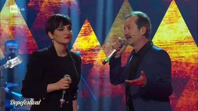 "Photo of Papaleo e Arisa cantano ""Basilicata on my mind"" al DopoFestival 2019 (VIDEO)"