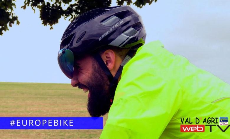 Photo of EuropeBike: Andrea Rossi intervista il ciclista Nicol Ielpo dopo la fine del tour