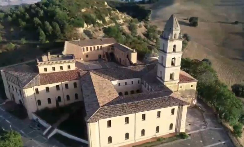 Photo of Il Monastero di S. Maria di Orsoleo visto dal drone