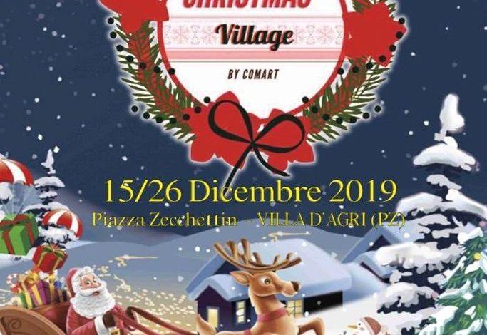 Photo of La magia del Natale con il Christmas Village a Villa d'Agri