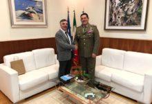 Photo of Il Presidente della Provincia Rocco Guarino incontra il Colonnello che ha preso il Comando territoriale Esercito Basilicata