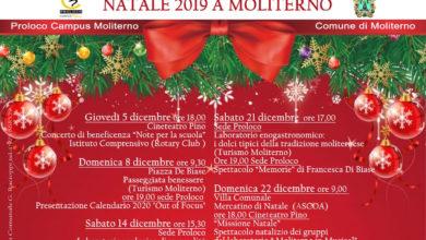Photo of Manifestazioni natalizie 2019 a Moliterno