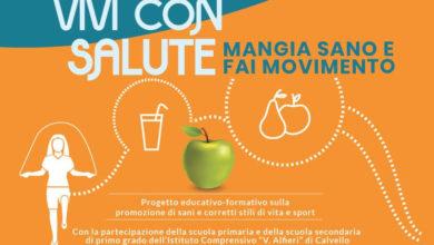 """Photo of ASD Kamasport a Calvello: """"vivi con salute: mangia sano e fai movimento"""""""