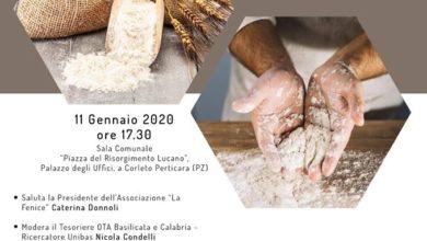 Photo of Convegno a Corleto Perticara sulla filiera del grano come arte culinaria e potenzialità di sviluppo.