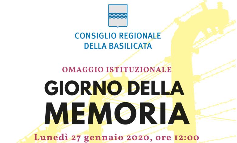 Photo of Giornata della Memoria, omaggio istituzionale del Consiglio Regionale della Basilicata