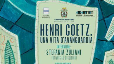 Photo of Al cineteatro Pino di Moliterno Stefania Zuliani racconta Henri Goetz
