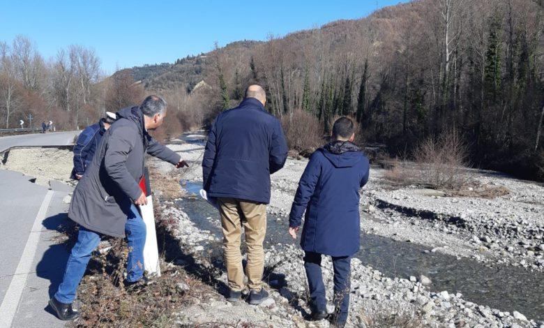 Photo of In mattina sopralluogo sulla fondovalle del Racanello, presente anche il consigliere Aliandro