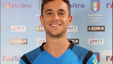 Photo of Ivan Robilotta di Villa d'Agri oggi IV ufficiale in serie A con Lazio-Bologna