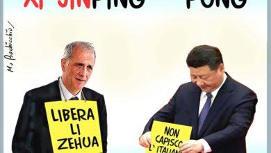 Photo of In tanti al flash mob organizzato da Bolognetti per chiedere al governo cinese di liberare il giornalista Lì Zehua