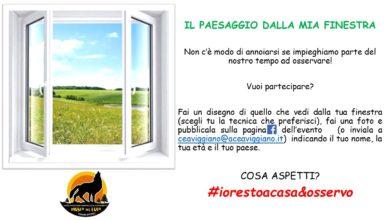 """Photo of """"Il Paesaggio Dalla Mia Finestra"""", iniziativa al tempo del Coronavirus"""
