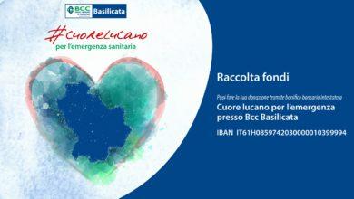 Photo of #cuorelucano, una comunità che reagisce all'emergenza. La raccolta fondi della BCC Basilicata