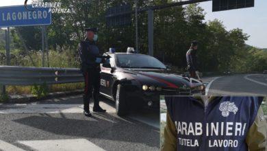 Photo of Controlli dei Carabinieri in materia di tutela della salute e sicurezza nei luoghi di lavoro