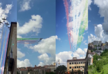 Photo of Frecce Tricolori a Potenza [VIDEO]