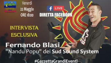 """Photo of Intervista esclusiva a Fernando Blasi """"Nandu Popu"""" dei Sud Sound System"""