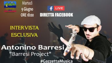 Photo of #GazzettaMusica – Intervista esclusiva ad Antonino Barresi