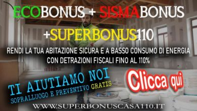 Photo of Consulenza GRATUITA per accedere al SUPERBONUS 110% in Basilicata e Val d'Agri