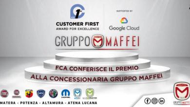 Photo of FCA conferisce il premio Customer First Award for Excellence alla concessionaria Gruppo Maffei!