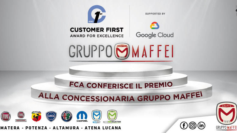Photo of FCA conferisce il premio Customer First Award for Excellence alla concessionaria Gruppo Maffei!