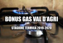 Photo of Bonus Gas per i dieci Comuni dell'Alta Valle dell'Agri e Calvello. Dal 1° ottobre al via le domande
