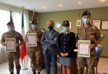 Photo of Nota di compiacimento a tre militari per aver svolto efficacemente il loro dovere
