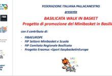 """Photo of Progetto """"Basilicata walk in basket"""" per la diffusione della pratica della pallacanestro"""
