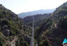 Photo of [ VIDEO ] Il Ponte Tibetano di Castelsaraceno visto dal drone