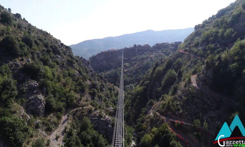 Photo of [ VIDEO ] Il Ponte Tibetano di Castelsaraceno visto dal drone