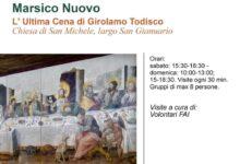 """Photo of Giornate FAI: visite all'affresco """"L' Ultima Cena"""" di Girolamo Todisco a Marsico Nuovo"""